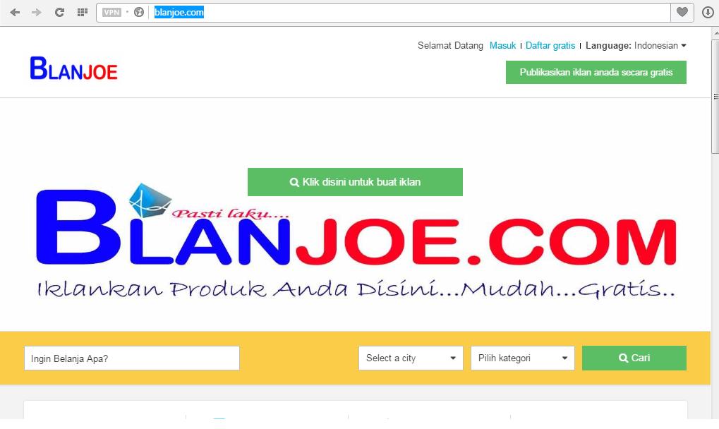 Iklan Jual Beli Online