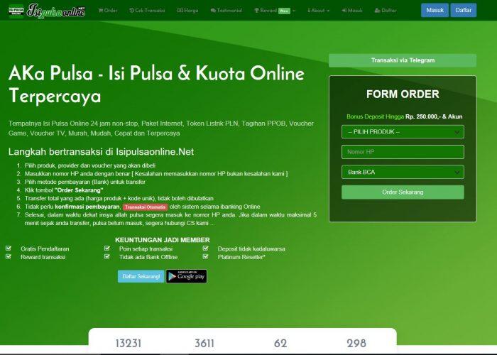 AKa Pulsa – Isi Pulsa & Kuota Online Terpercaya