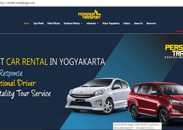 Rental Mobil Jogja – Persada Transport