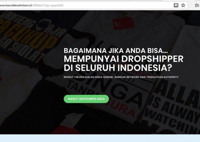 Kaos Dakwah Islami Indonesia