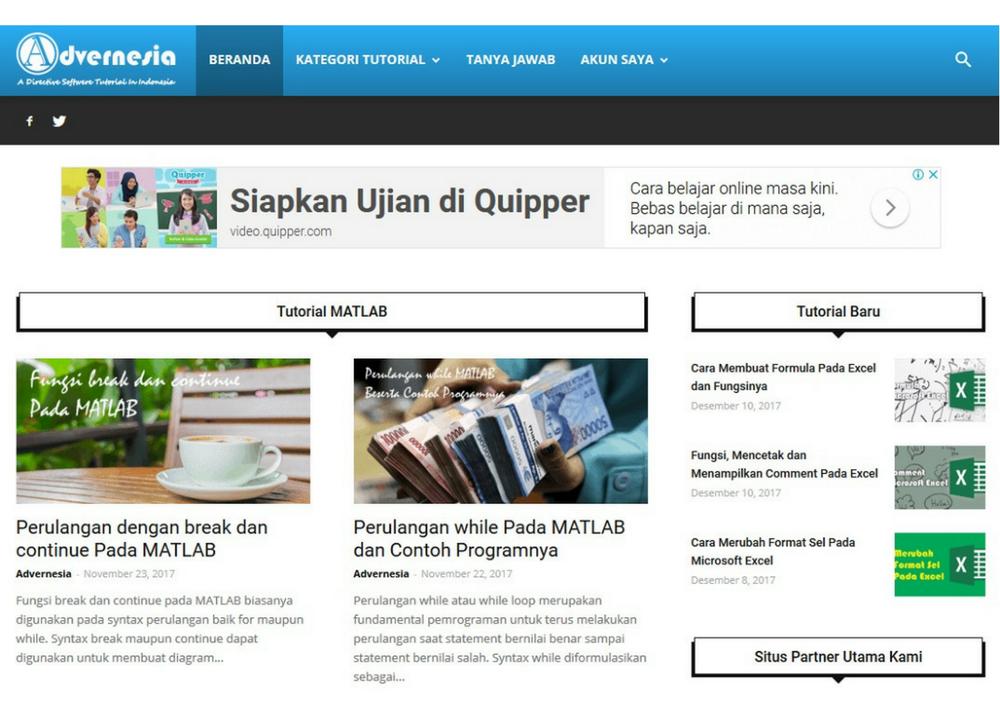 Advernesia | A Directive Softwere Tutorial In Indonesia