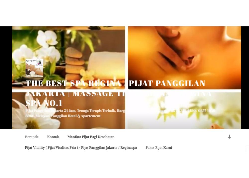 THE BEST SPA REGINA   Pijat Panggilan Jakarta   Massage