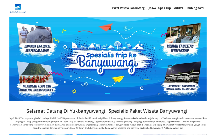 Yukbanyuwangi Website