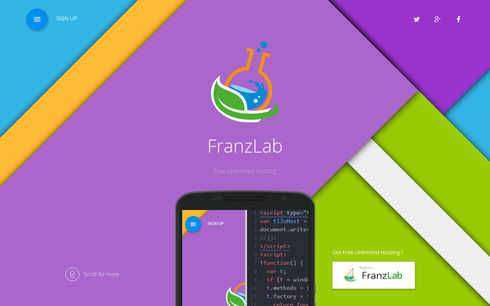 Free Unlimited Hosting – FranzLab