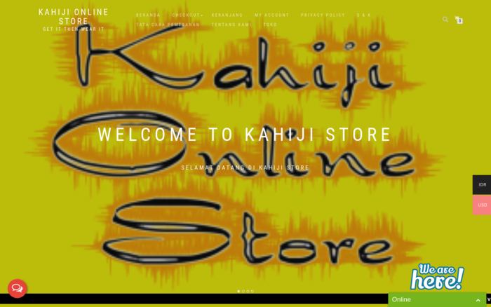 kahiji online store