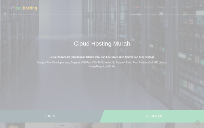 Asro Hosting – Cloud Hosting Murah Indonesia (IIX)