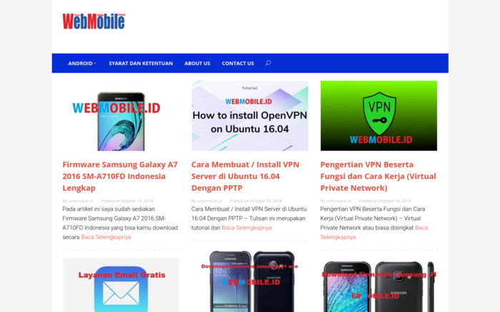 Webmobile | Website Mobile Technology Indonesia