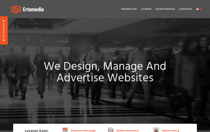 Ertomedia – Manado Web Design and Web Hosting