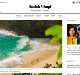 Ibadah Mimpi (Travel Blogger)